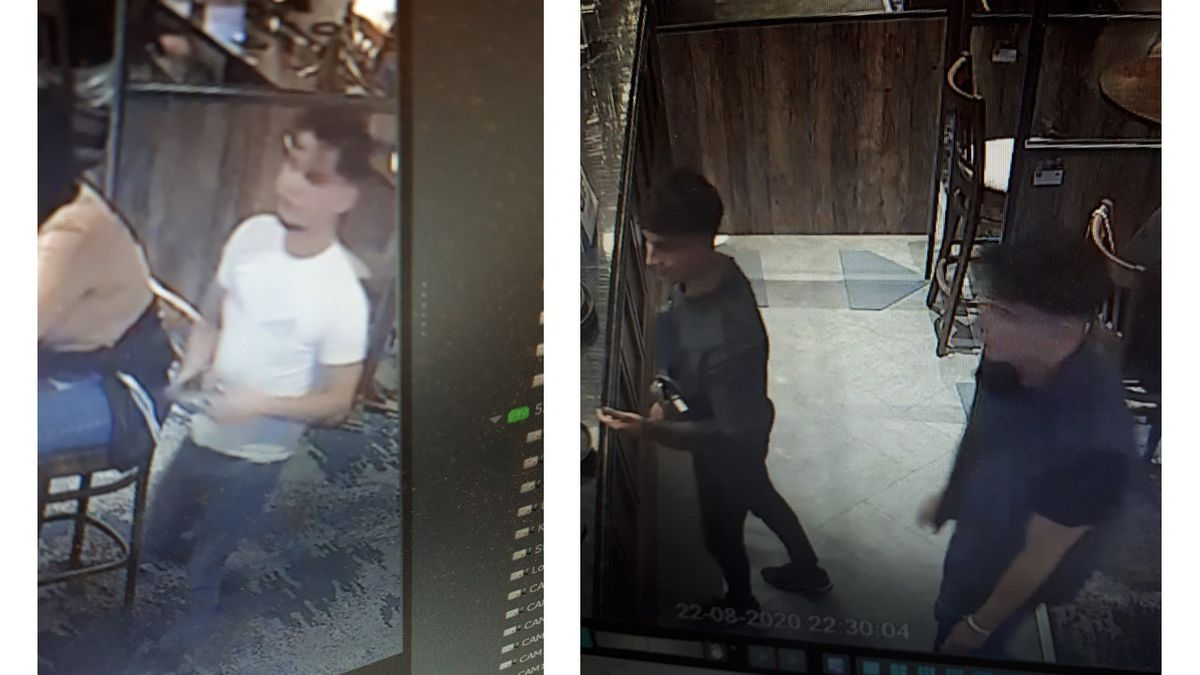 Police are searching for these men