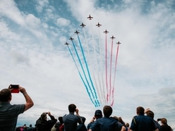 Sights and stunts galore as 60,000 visit Cosford Air Show