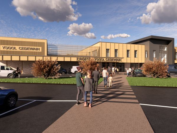 An artist's impression of how the school could look