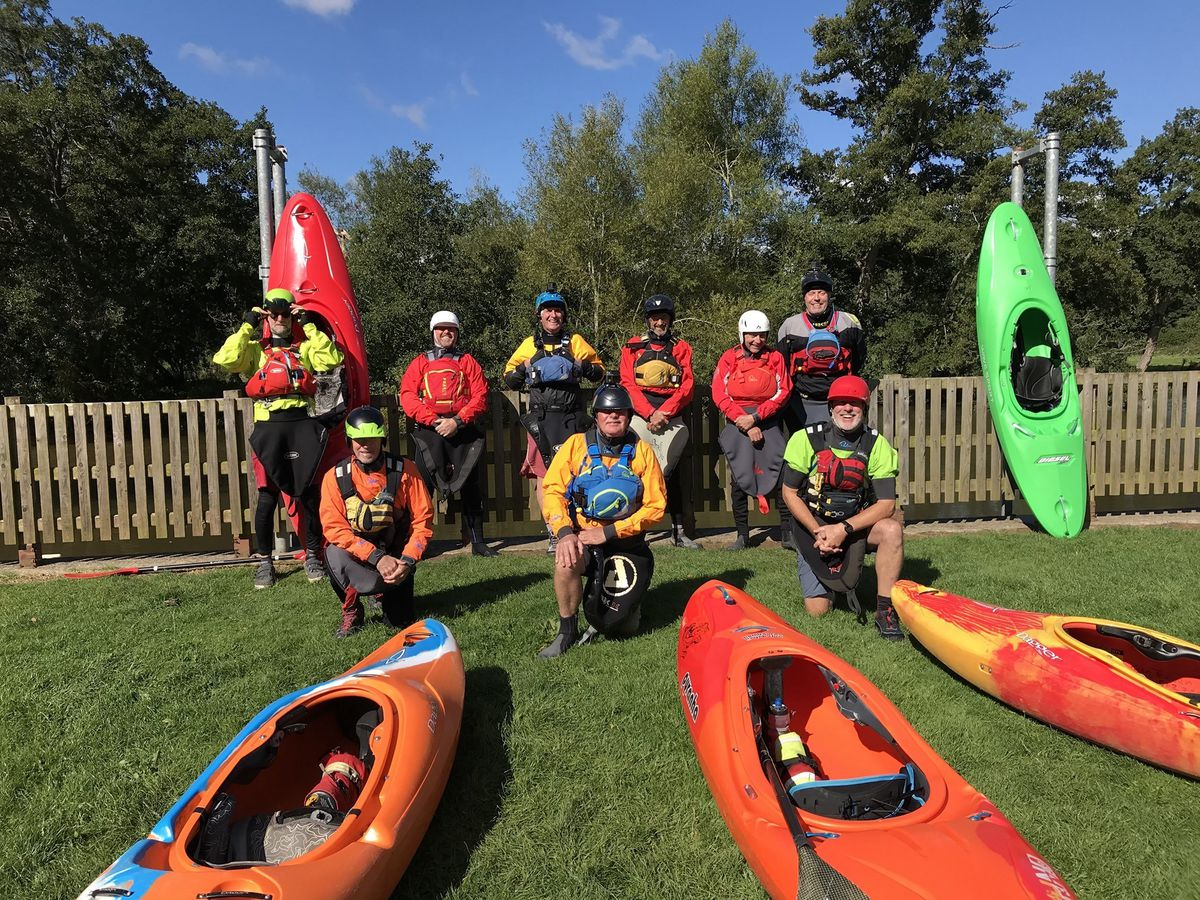 Some of the members of Wombourne Kayak Club who will be doing the Million Mile Clean