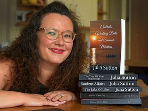 Julia Sutton has had her sixth book published on Amazon