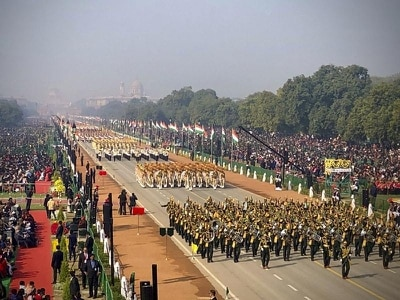 Military parade celebrates Republic Day in India