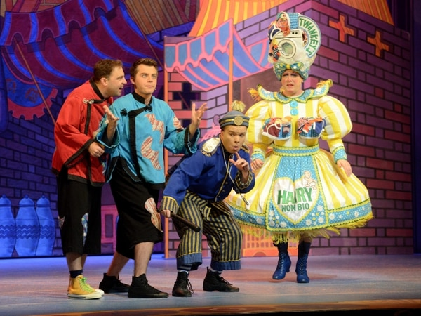 Aladdin at Theatre Severn, Shrewsbury - panto review and pictures