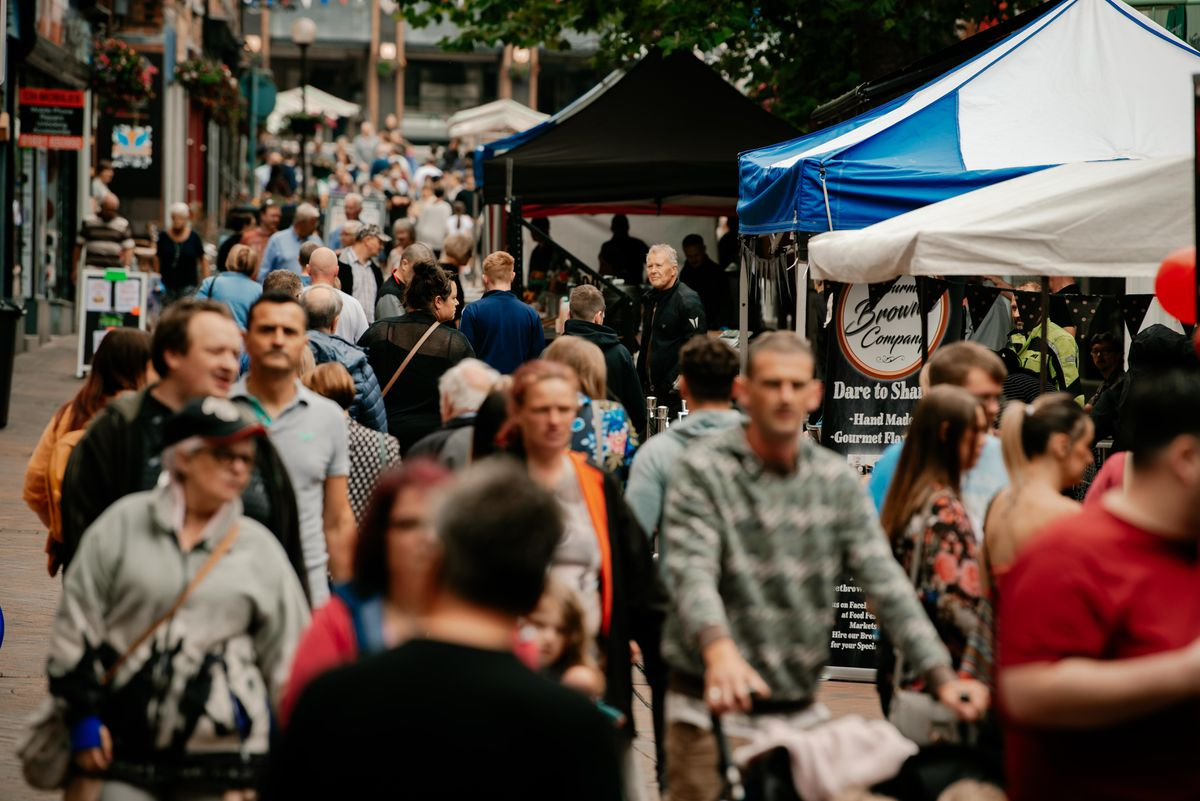 Oswestry's recent successful food festival