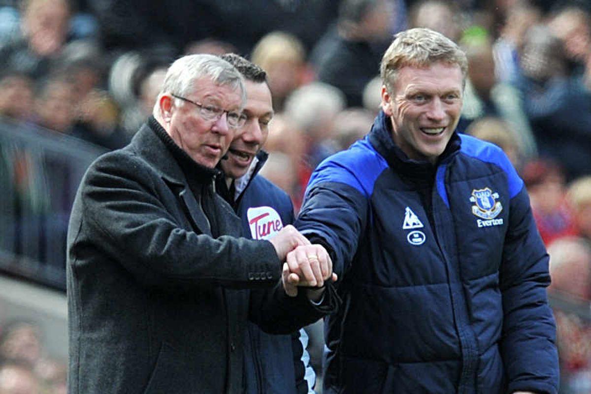 Fergie time? Sir Alex Ferguson and David Moyes