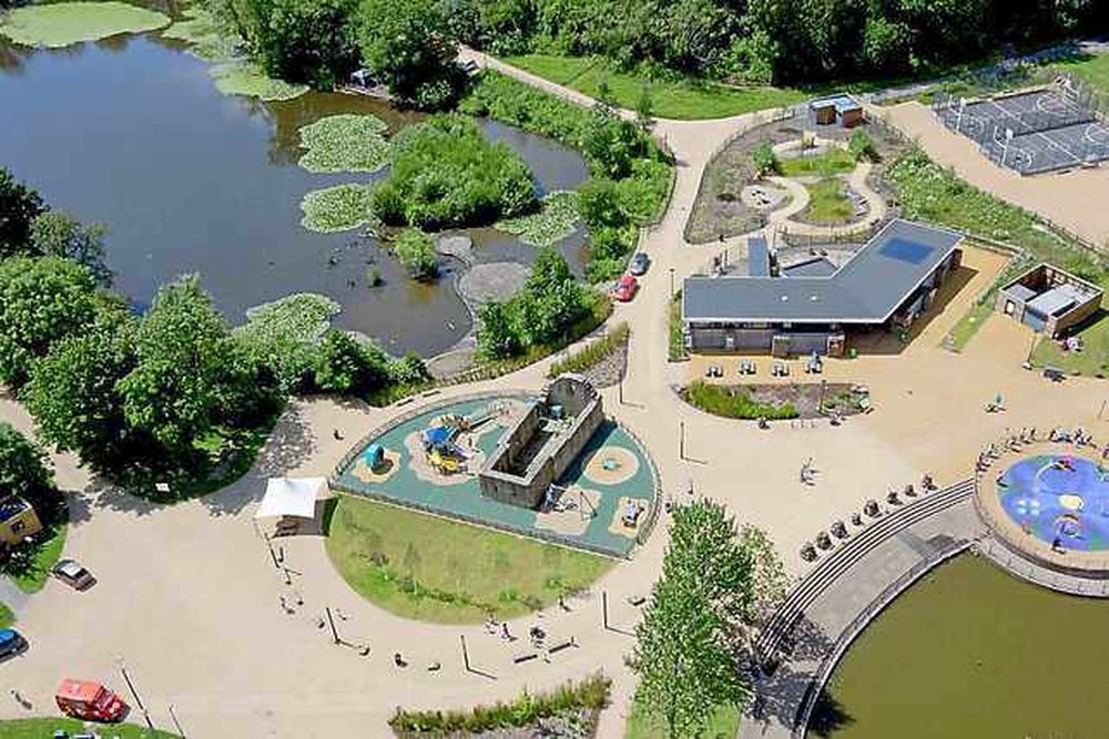 Town And Country Ad >> Telford Town Park and two other Shropshire tourist attractions awarded Green Flag award ...
