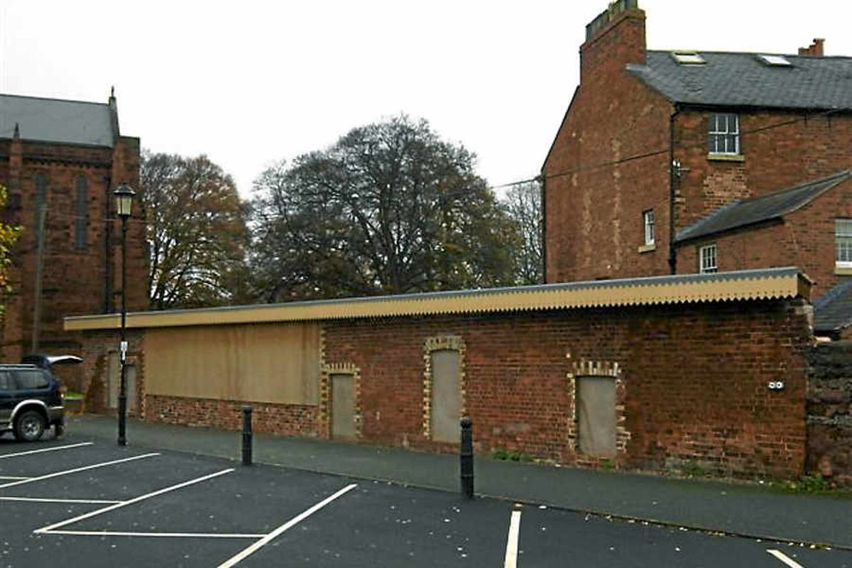 The Abbey Railway Station, in Abbey Foregate, dates back to 1866 and has been disused for more than 30 years