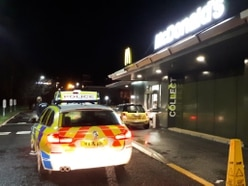 McNicked: Woman arrested on suspicion of drug driving after passing out at Telford McDonald's drive-through