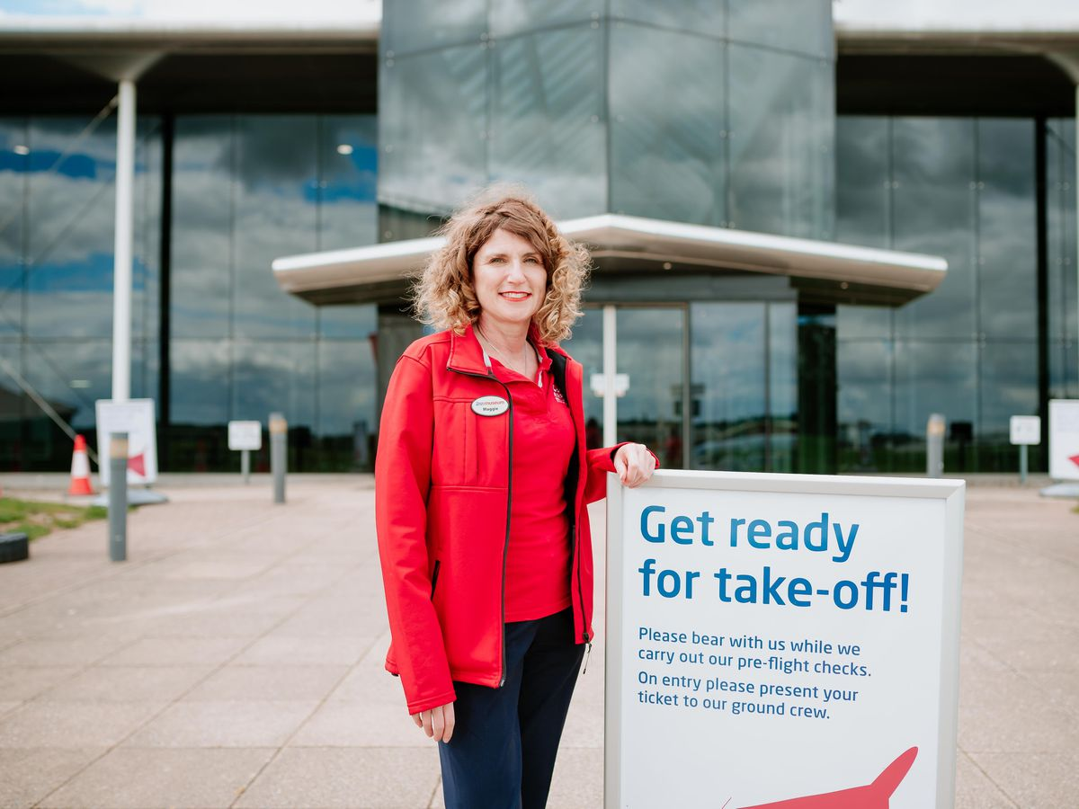 RAF Cosford Museum CEO Maggie Appleton