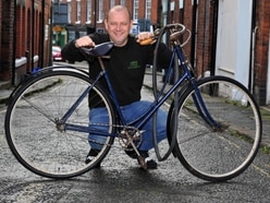 Rod's in a spin over 130-year-old antique cycle
