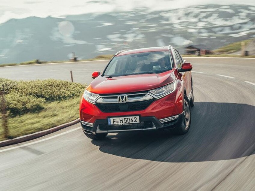 UK Drive: Honda's updated CR-V stands out in a crowded market