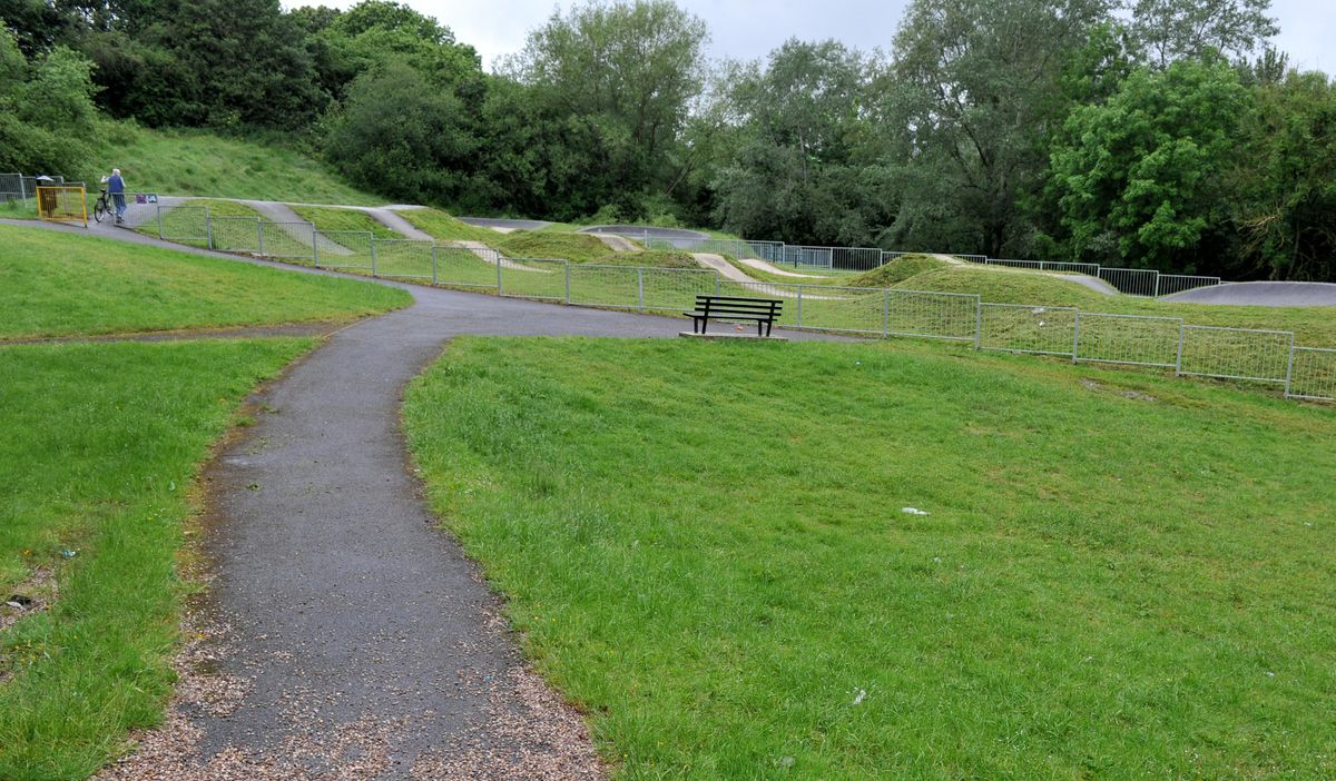 Rough Park BMX track in Woodside