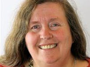 Powys County Council Adult Social Services and Welsh language portfolio holder Councillor Myfanwy Alexander.