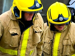 Bonfire warning after crews tackle several out-of-control fires across Shropshire