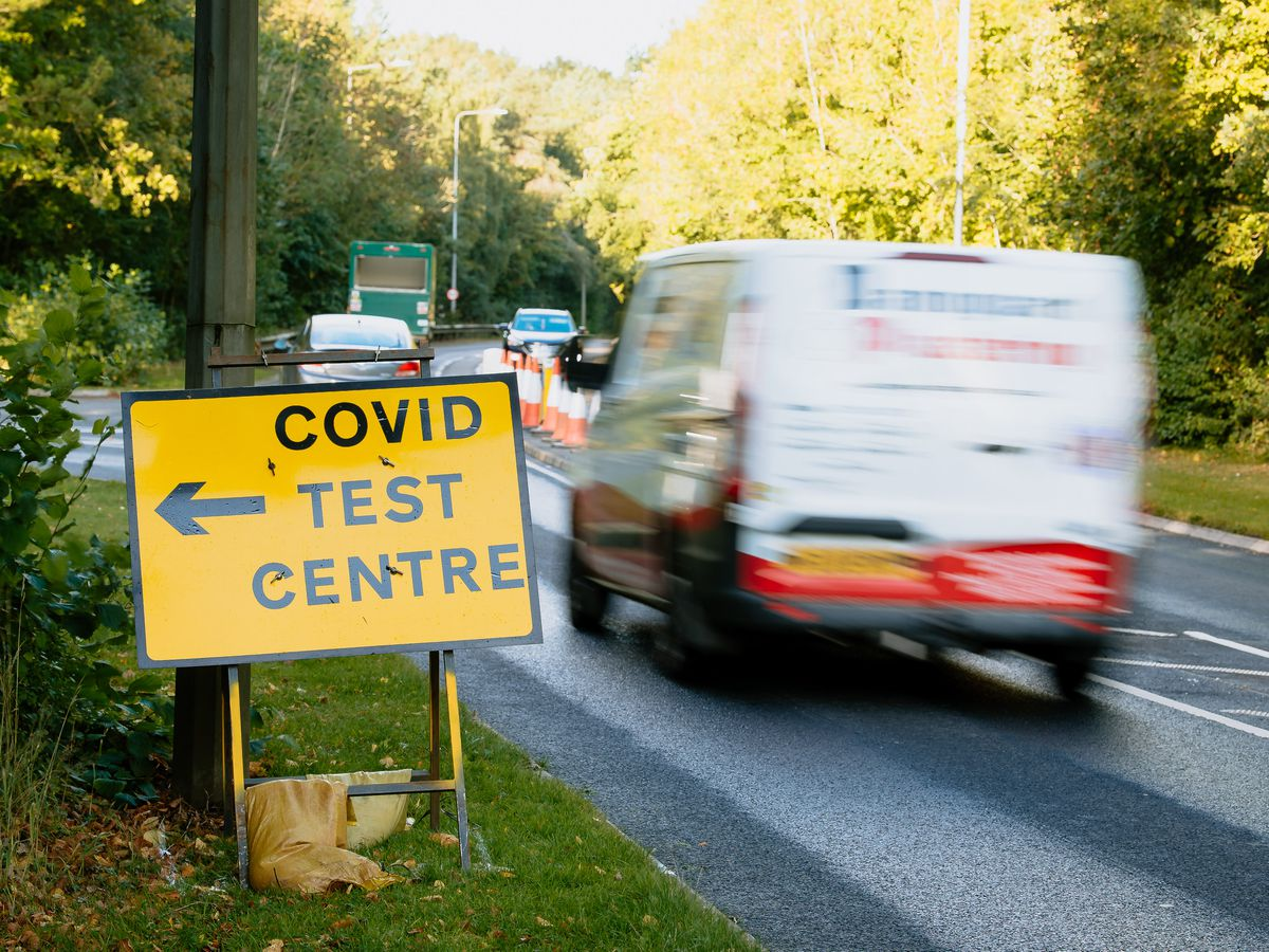 A new coronavirus test centre has been set up in Telford