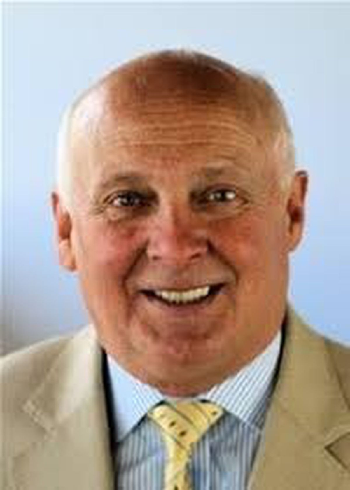 Chairman of Powys County Council\'s Audit Committee, Councillor John Morris.