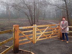Deputy mayor Ian Preece at Jubilee Woods