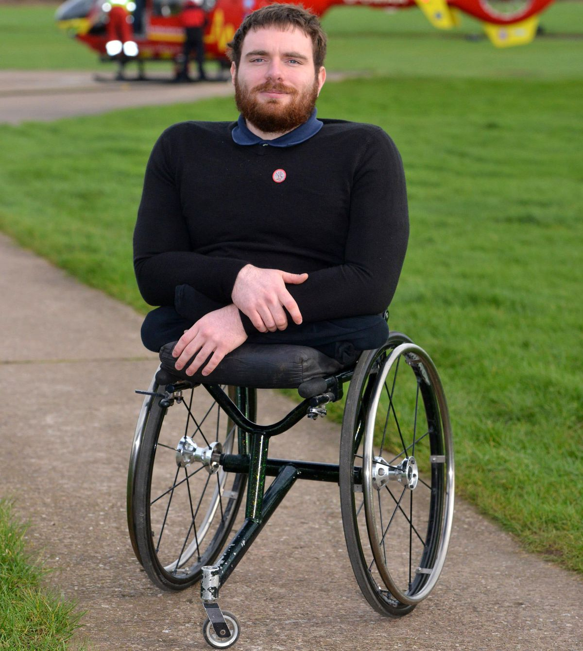 Paralympian Mickey Bushell is among the famous faces to have supported the trust's sports challenges
