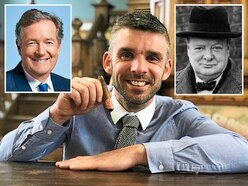 Churchill's cigar bought by Piers Morgan at Shropshire auction