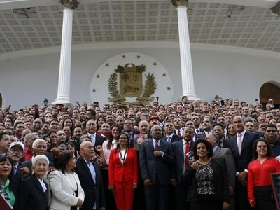 Venezuelan pro-government assembly takes congress' powers