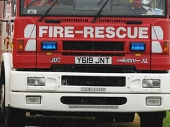 Fire crews tackle two Telford hay blazes in 30 minutes
