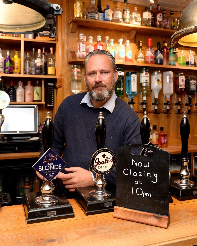 Darren Wood of the New Inn in Newport