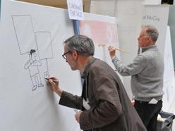 Shrewsbury Cartoon Festival heads indoors to escape Storm Hannah