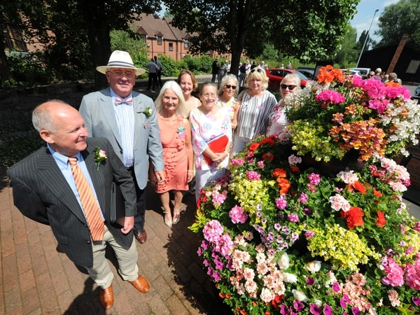Heart of England in Bloom judges visit Newport
