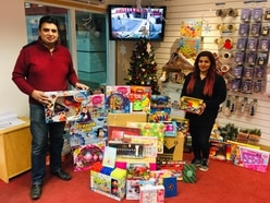 Big-hearted donors give huge boost to Shropshire Star toy appeal