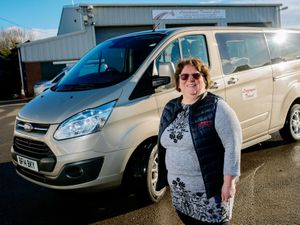 Val Sheppard-Evans, owner of Longmynd Travel in Church Stretton, which is offering free trips to vaccine hubs for over-70s