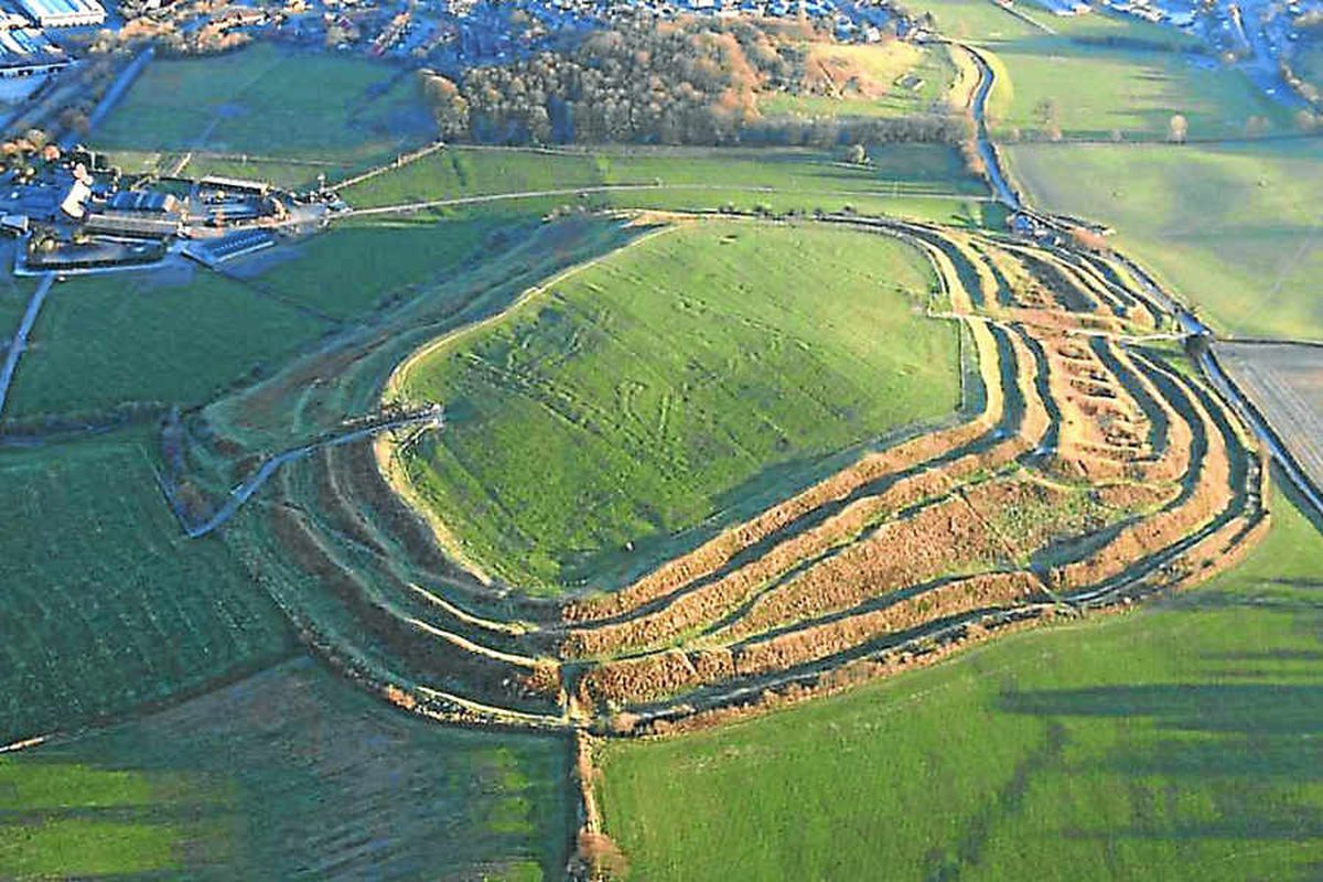 The Old Oswestry Hillfort