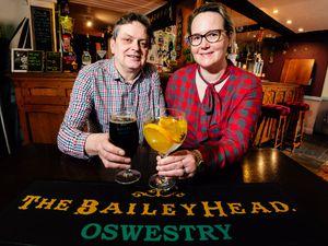 Duncan Borrowman and Grace Goodland  from the Bailey Head pub