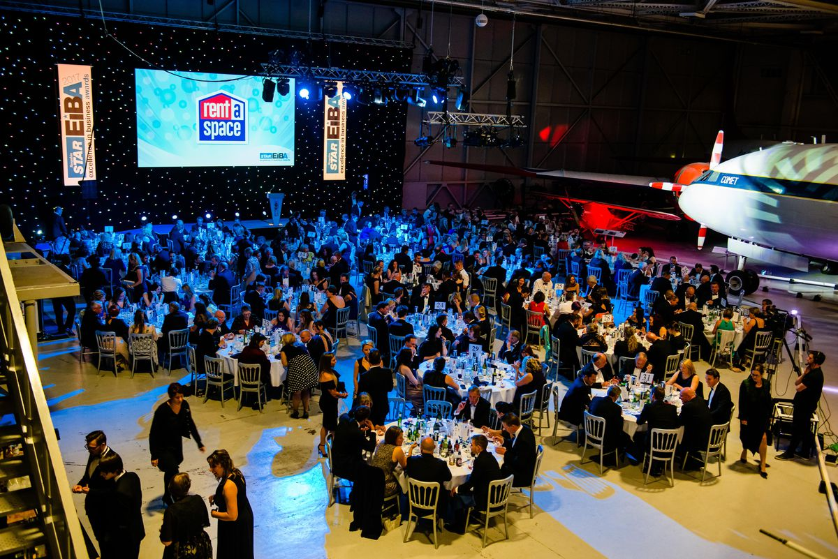 The Excellence in Business Awards at RAF Cosford