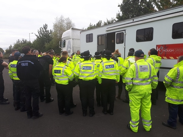 More than 100 vehicles stopped and four arrested for drug driving in police operation between Shrewsbury and Oswestry