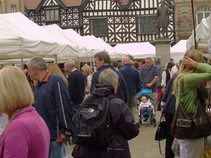 Shrewsbury Farmers Market pictured last June