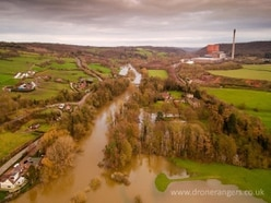 River Severn flood waters dropping across Shropshire - with photos