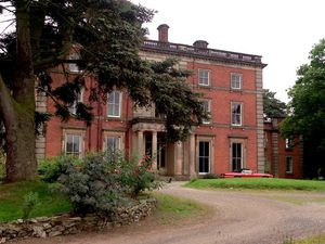 FOR SHROPSHIRE MAGAZINE...STORY BELINDA... Netley Hall, Dorrington near Shrewsbury.
