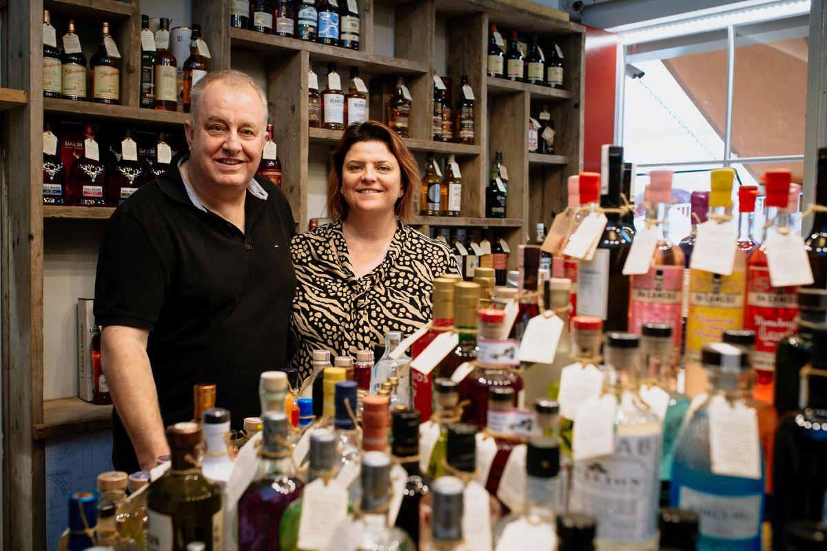 Owners Maria and Derek Bowen