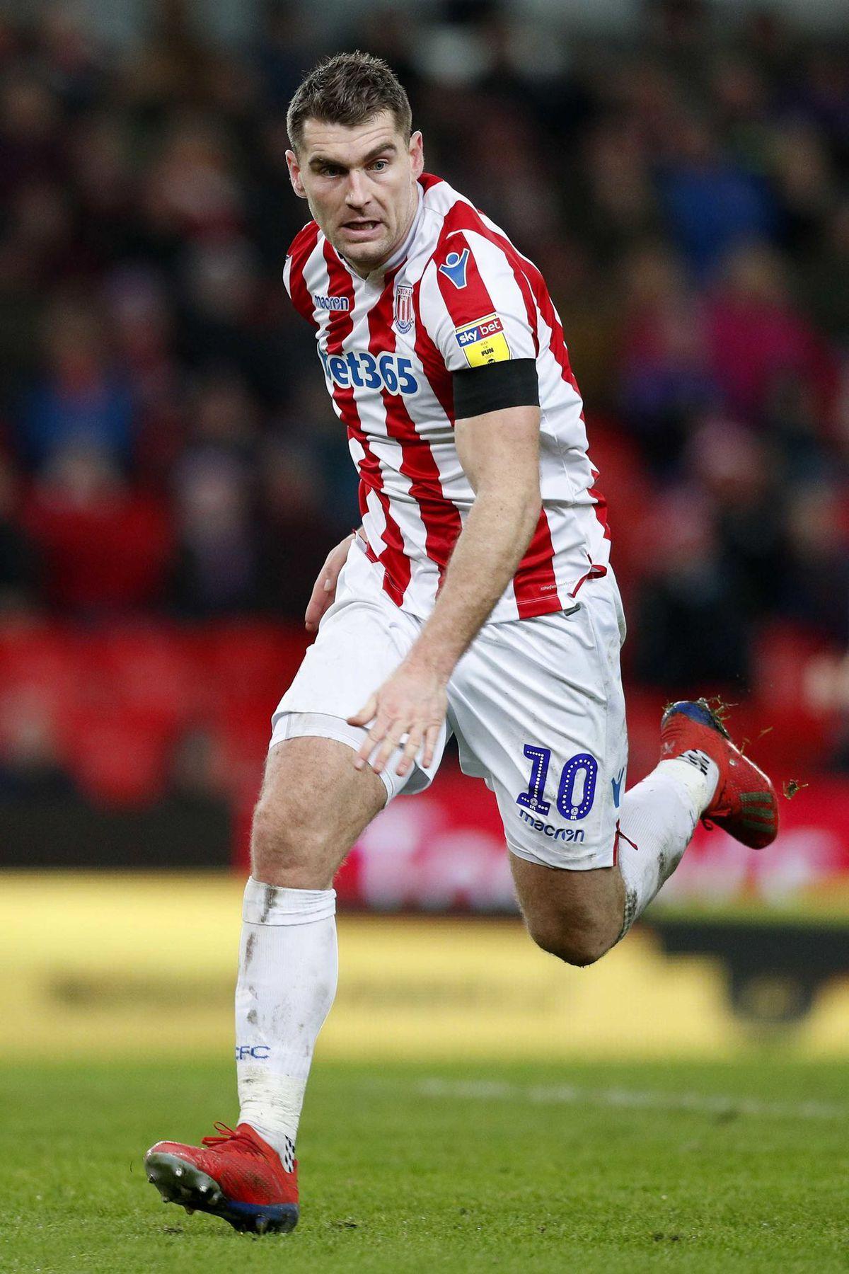 Sam Vokes has been on Shrewsbury Town's radar this summer