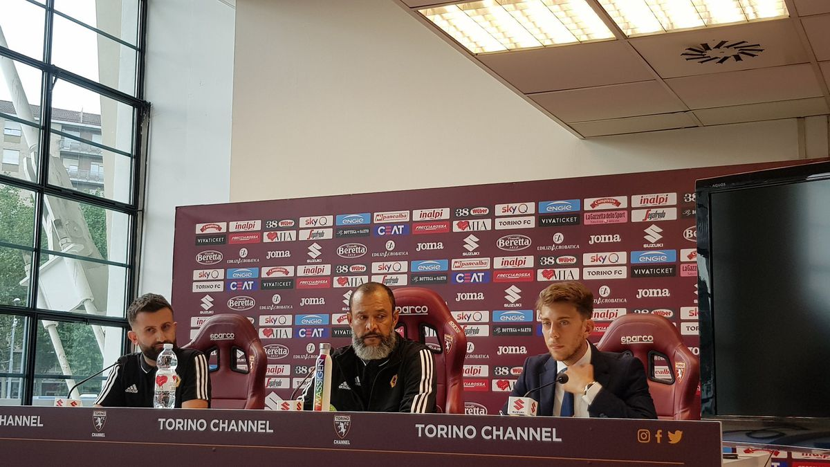 Wolves boss Nuno at Wednesday's pre-match press conference held at Stadio Olimpico Grande Torino
