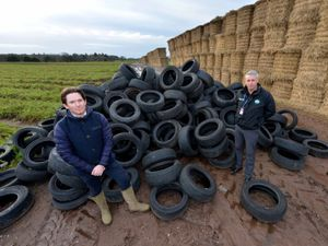 Criminals often dump discarded tyres under the cover of darkness – as has happened on Bradford Estates several times