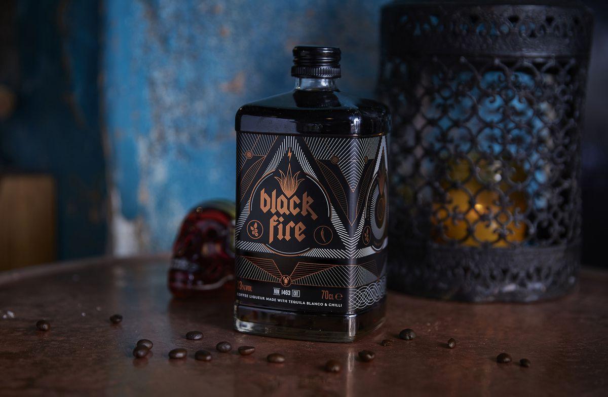Black Fire Tequila Coffee Liqueur