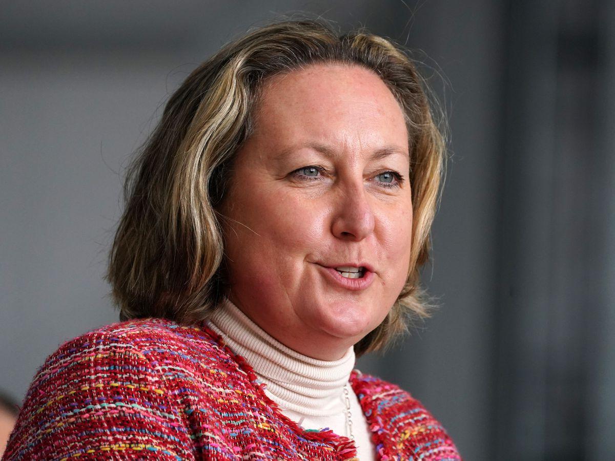 Secretary of State for International Trade Anne-Marie Trevelyan (Andrew Milligan/PA)