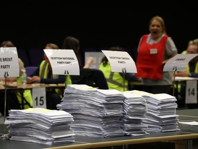 Brexit Party could win an MEP in Scotland, early European results suggest