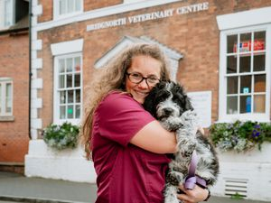 Sarah Probert, owner of Bridgnorth Veterinary Centre