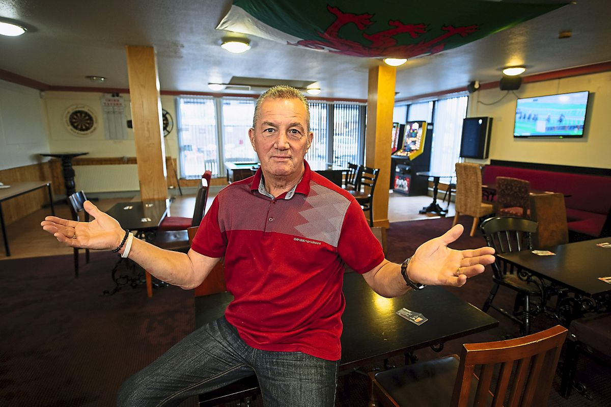 Publican Nigel Edwards, who runs the Tavern in Chirk, says new lockdown rules will have a huge impact on people and businesses