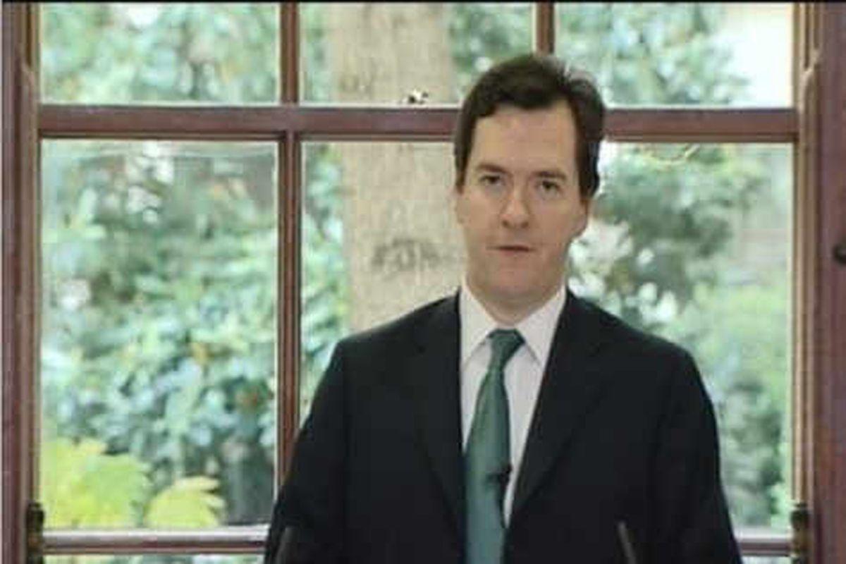Osborne sets out spending cuts