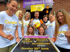 Wolves Allstars will face Pattingham Old Boys FC to raise cash for Compton Care