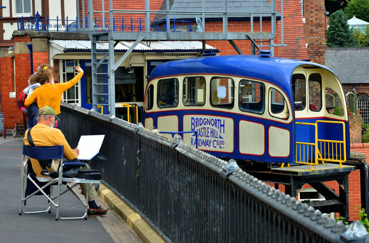 Bridgnorth's Cliff Railway will reopen on Monday