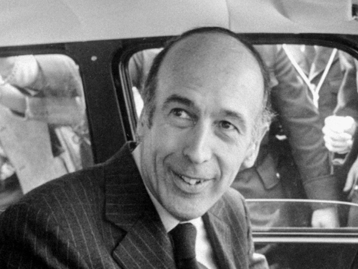 Valery Giscard d'Estaing.
